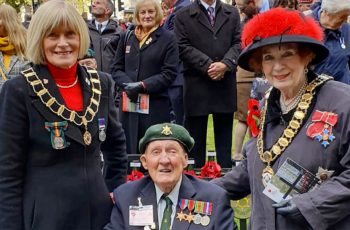 Ron takes part in Remembrance Event in London