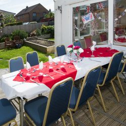 VE Day at Friary Care, Weymouth