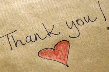 A big Friary Care Thank You