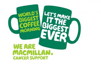 Friary Care is delivering for Macmillan Coffee Morning